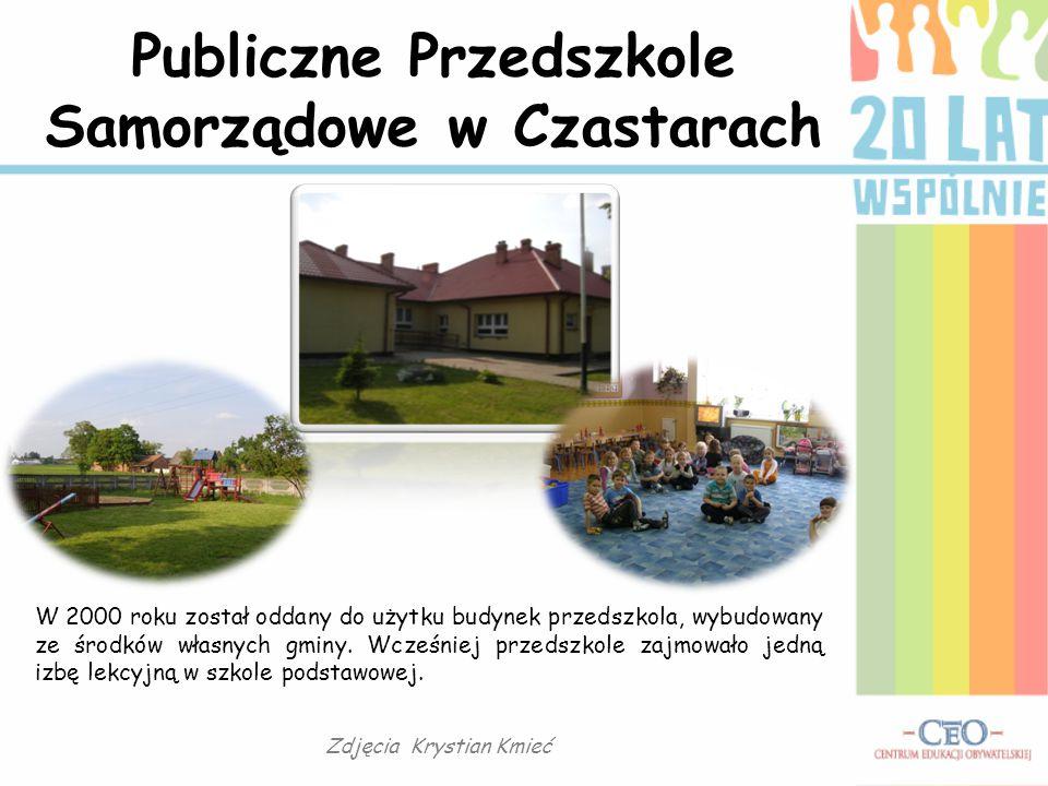 Publiczne Przedszkole Samorządowe w Czastarach