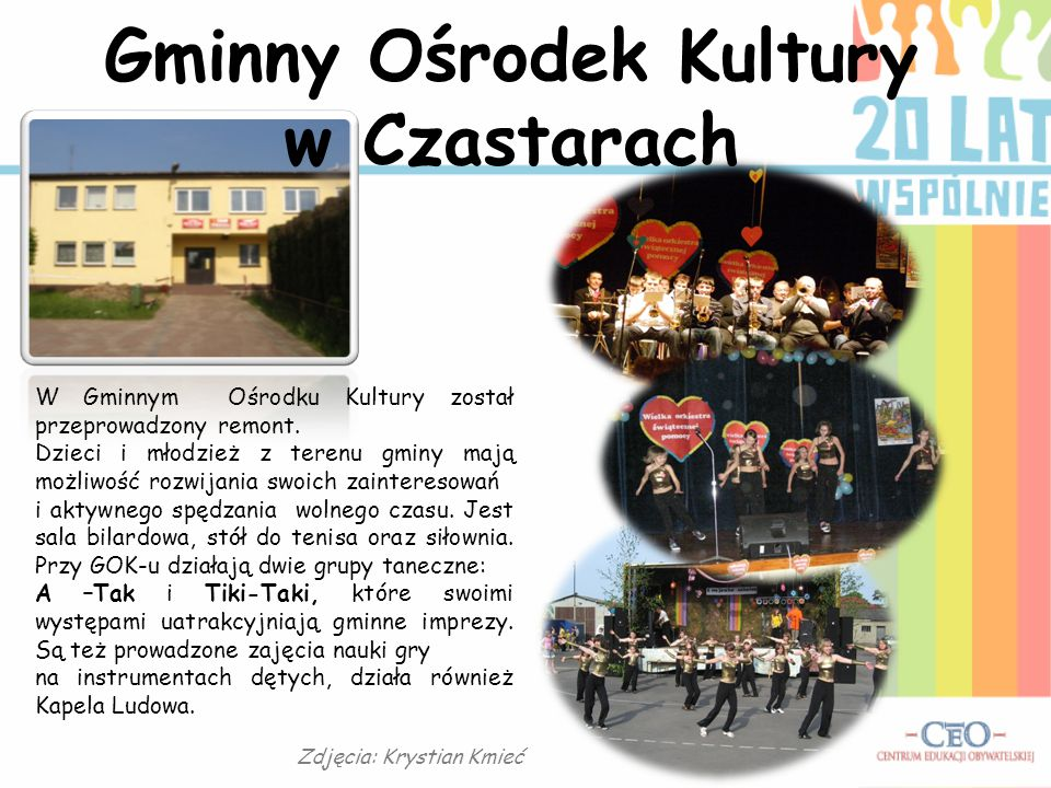 Gminny Ośrodek Kultury w Czastarach