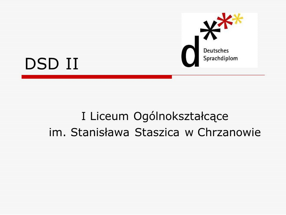 I Liceum Ogólnokształcące im. Stanisława Staszica w Chrzanowie
