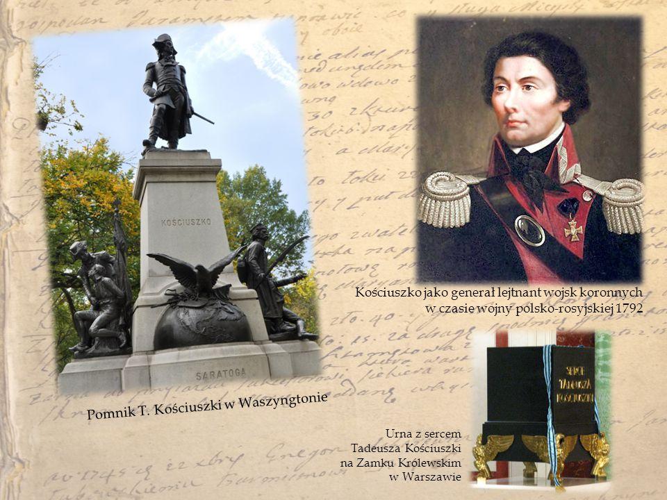 Pomnik T. Kościuszki w Waszyngtonie