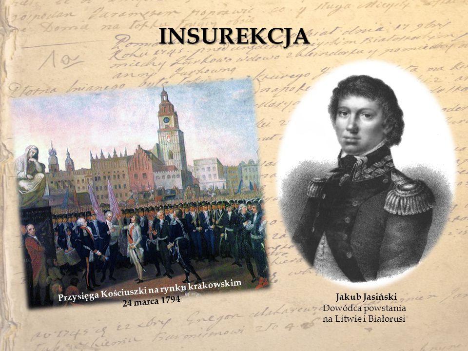 Przysięga Kościuszki na rynku krakowskim