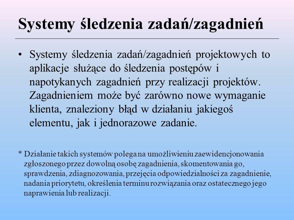 Systemy śledzenia zadań/zagadnień