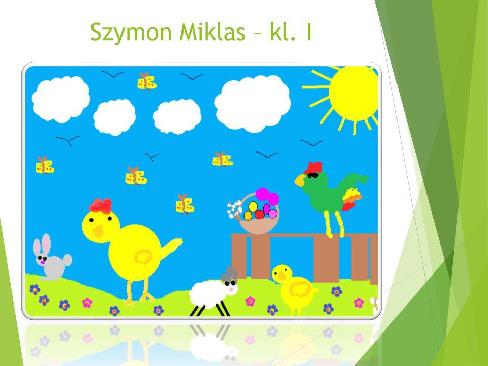 Szymon Miklas – kl. I