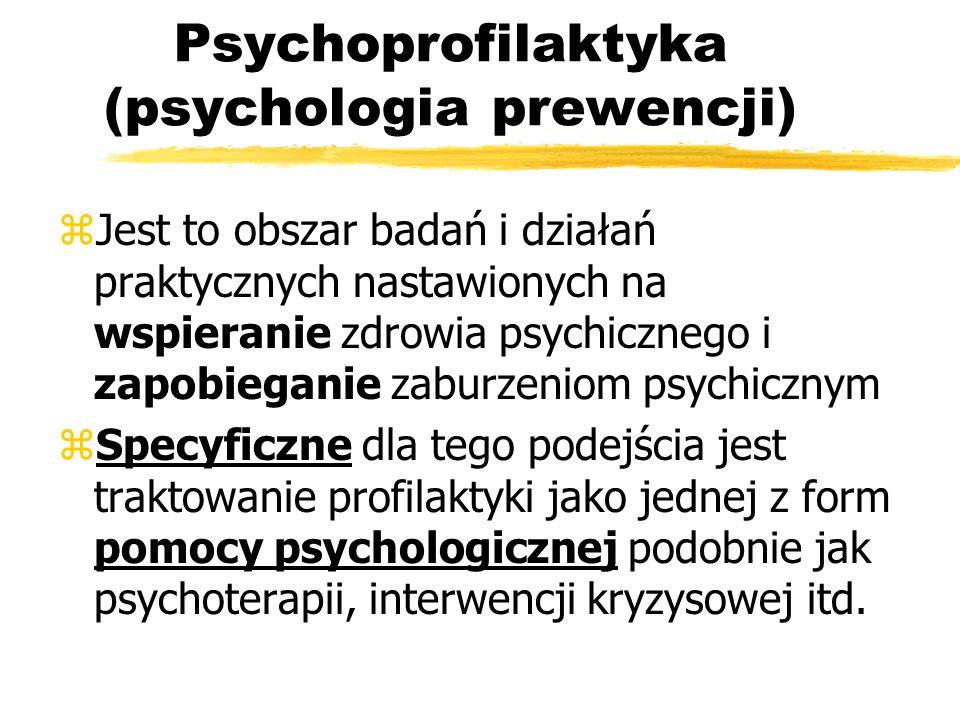 Psychoprofilaktyka (psychologia prewencji)
