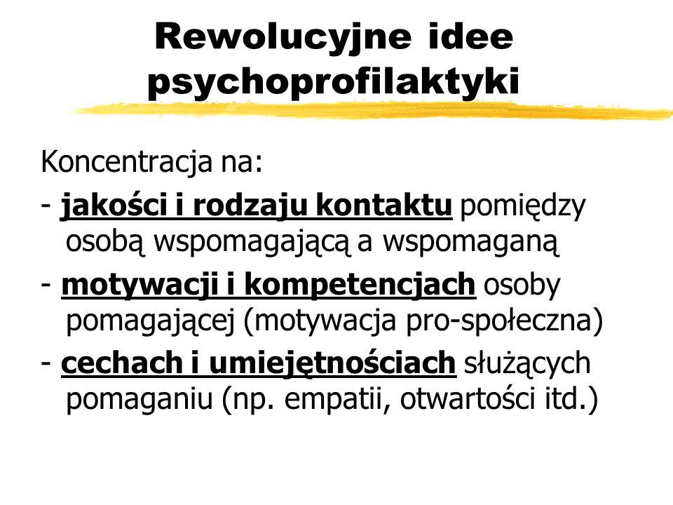 Rewolucyjne idee psychoprofilaktyki