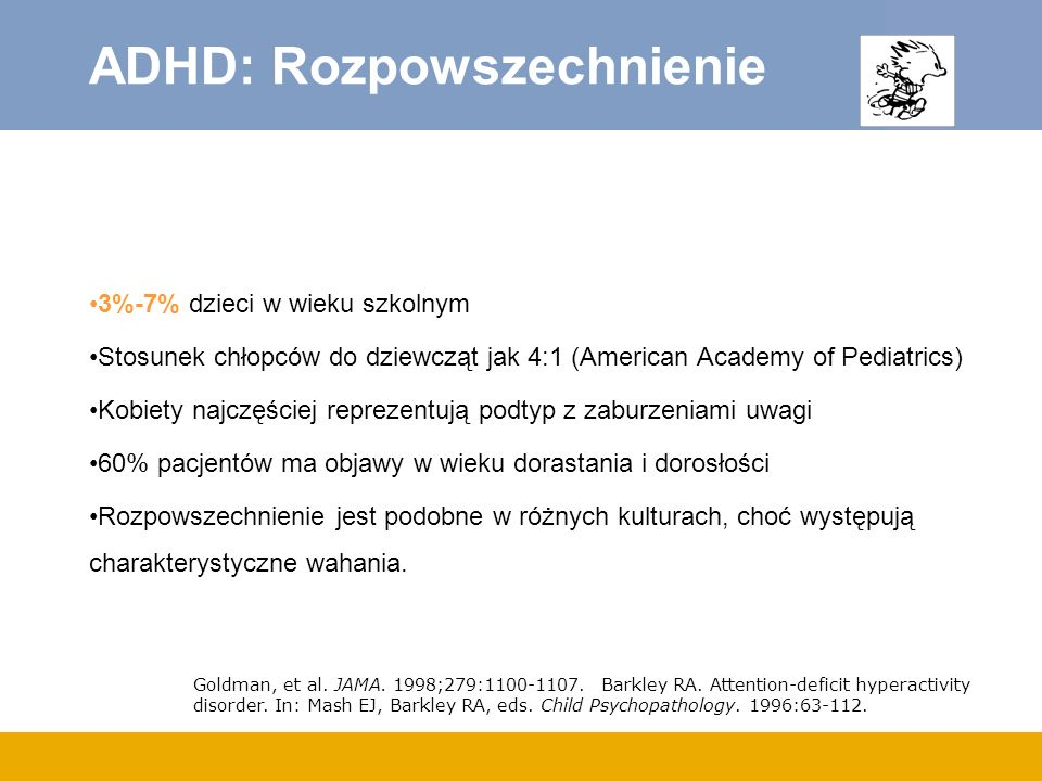 ADHD: Rozpowszechnienie