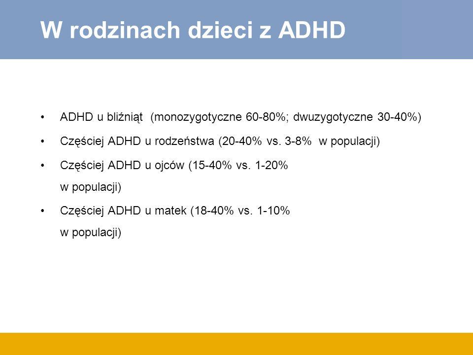 W rodzinach dzieci z ADHD