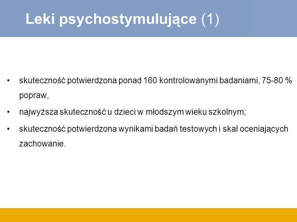 Leki psychostymulujące (1)