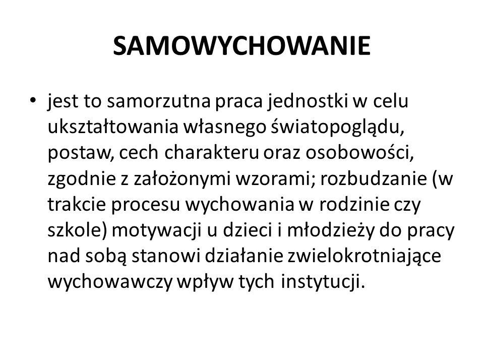 SAMOWYCHOWANIE