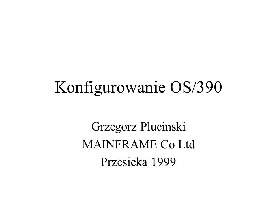 Grzegorz Plucinski MAINFRAME Co Ltd Przesieka 1999