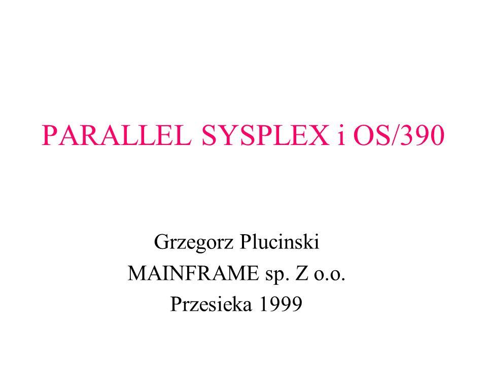 Grzegorz Plucinski MAINFRAME sp. Z o.o. Przesieka 1999