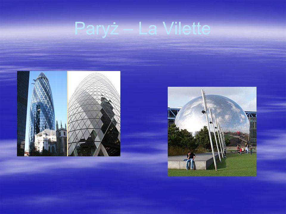 Paryż – La Vilette