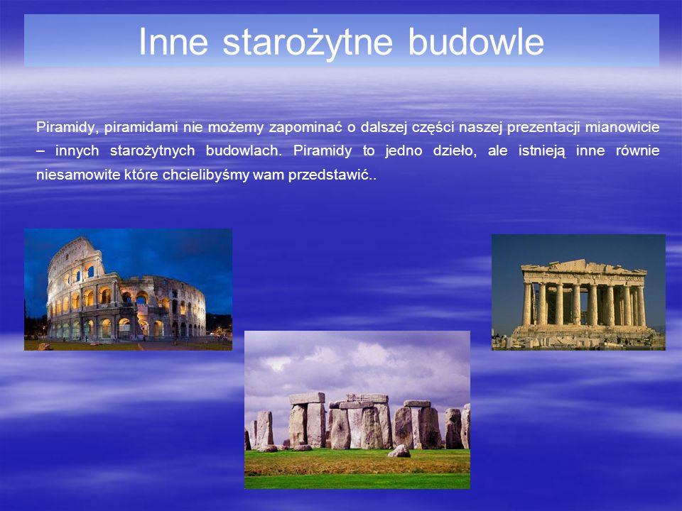 Inne starożytne budowle