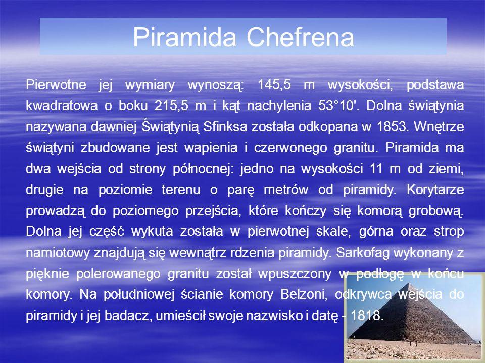 Piramida Chefrena
