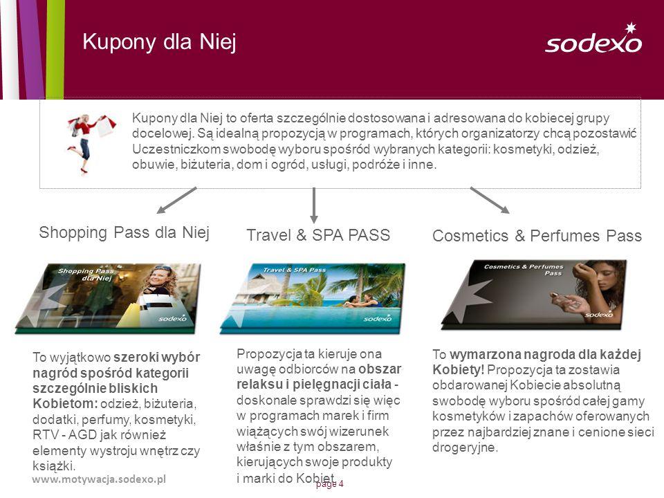 Kupony dla Niej Shopping Pass dla Niej Travel & SPA PASS