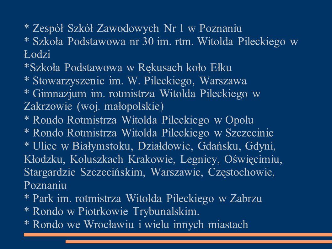 * Zespół Szkół Zawodowych Nr 1 w Poznaniu