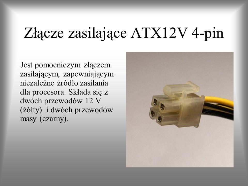 Złącze zasilające ATX12V 4-pin