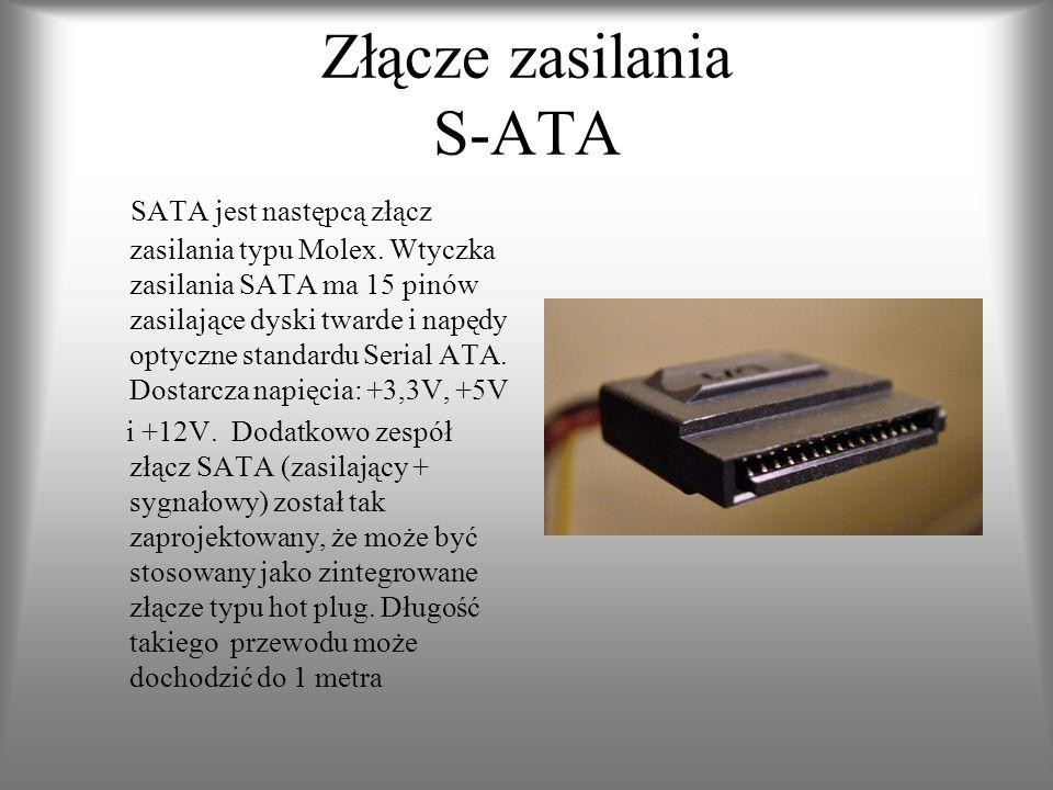 Złącze zasilania S-ATA