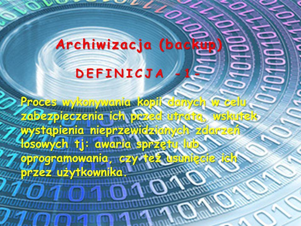 Archiwizacja (backup)