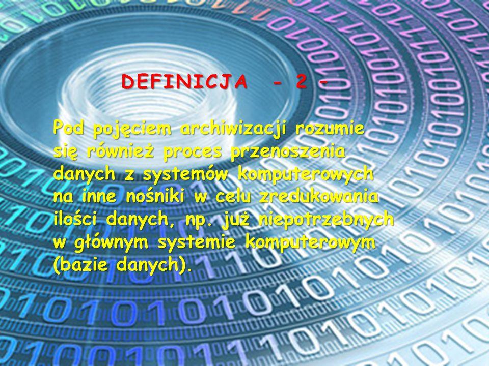 DEFINICJA - 2 –