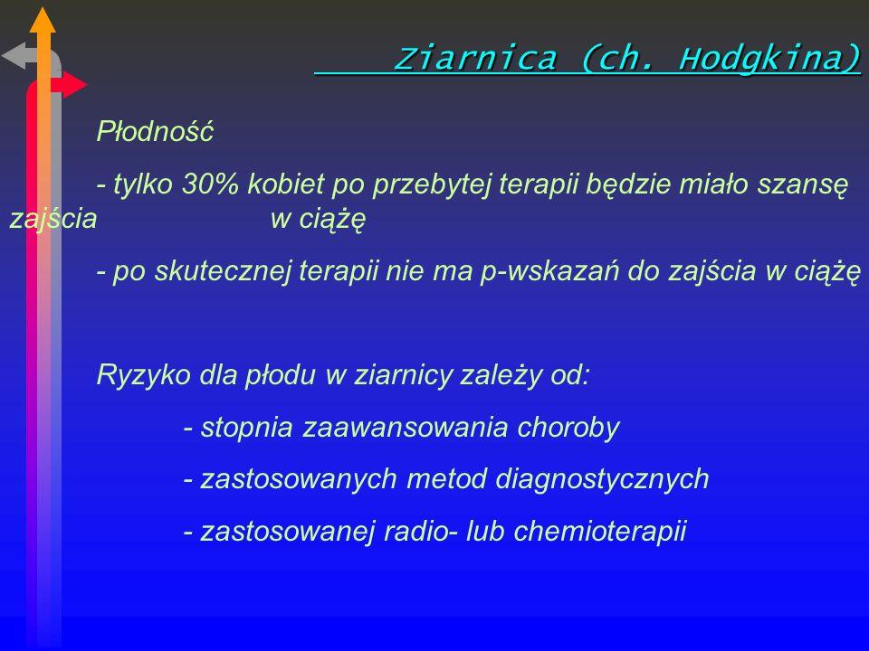 Ziarnica (ch. Hodgkina)