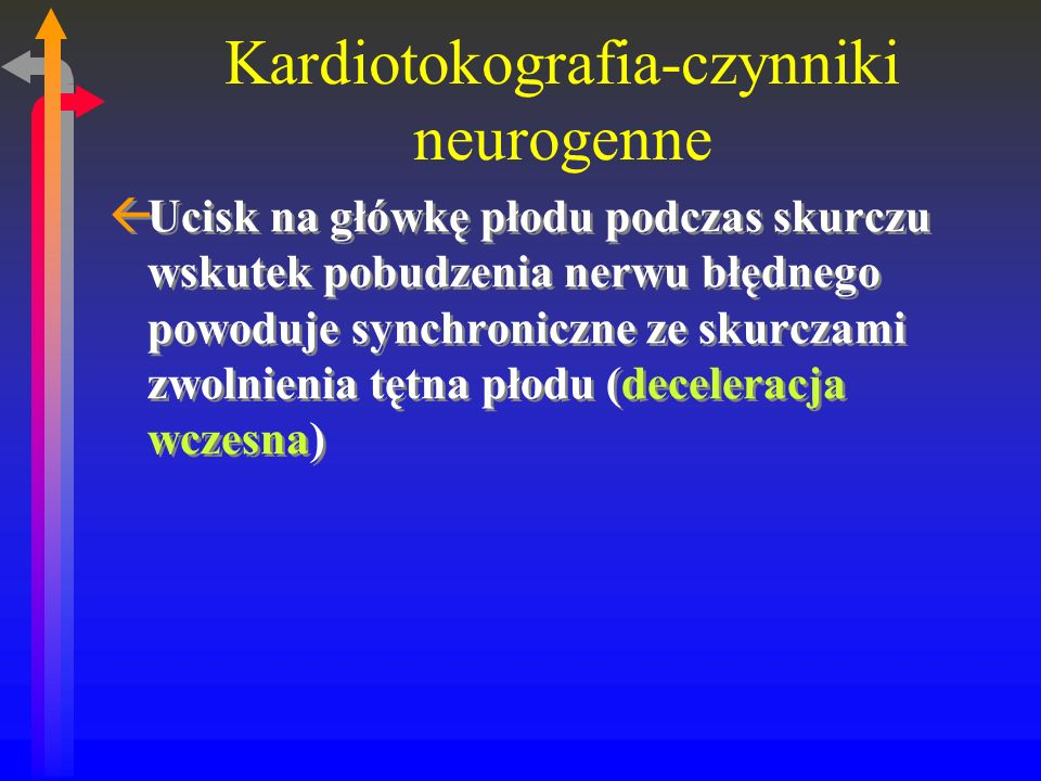 Kardiotokografia-czynniki neurogenne
