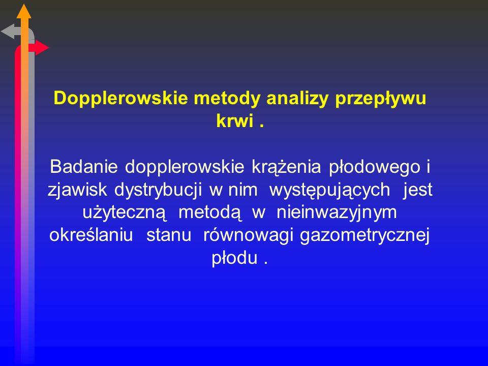 Dopplerowskie metody analizy przepływu krwi