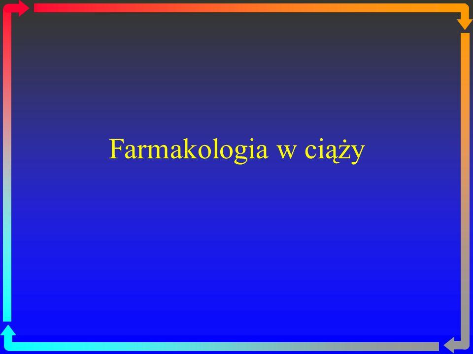 Farmakologia w ciąży