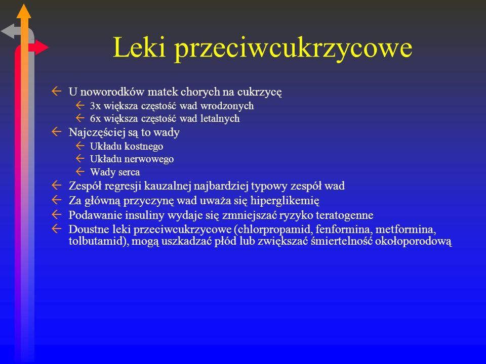 Leki przeciwcukrzycowe