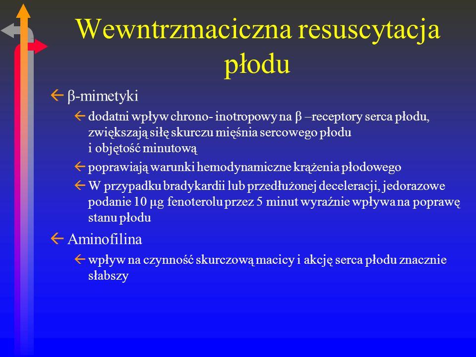 Wewntrzmaciczna resuscytacja płodu