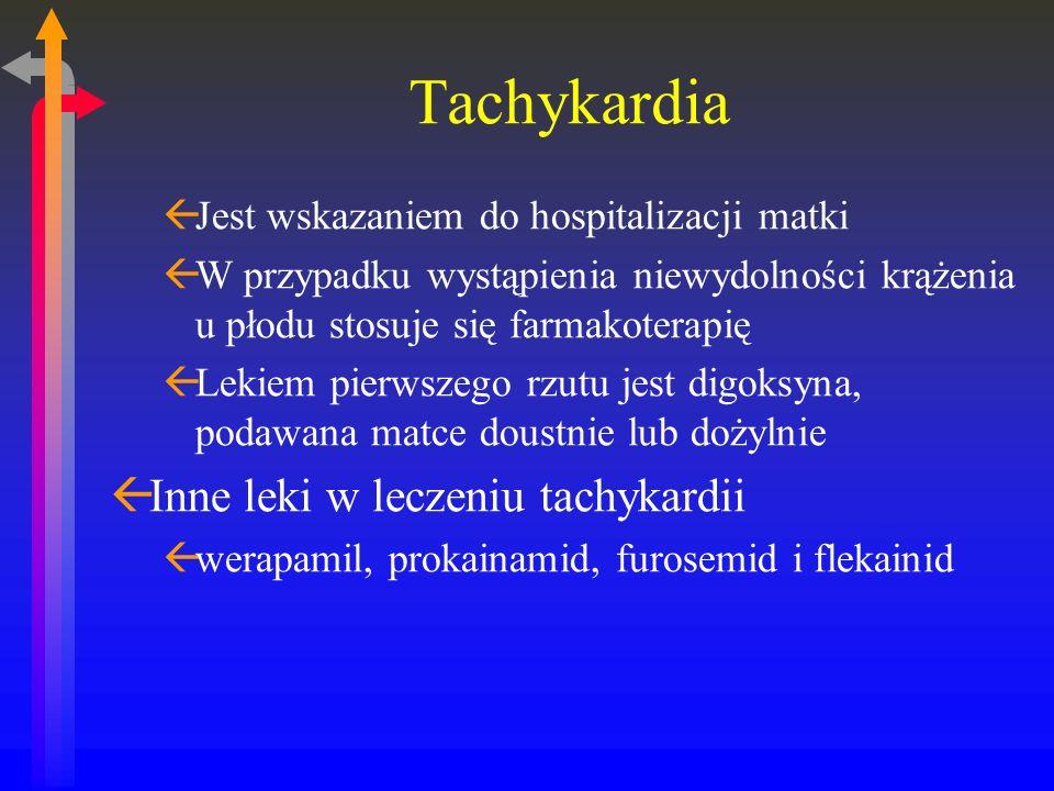 Tachykardia Inne leki w leczeniu tachykardii