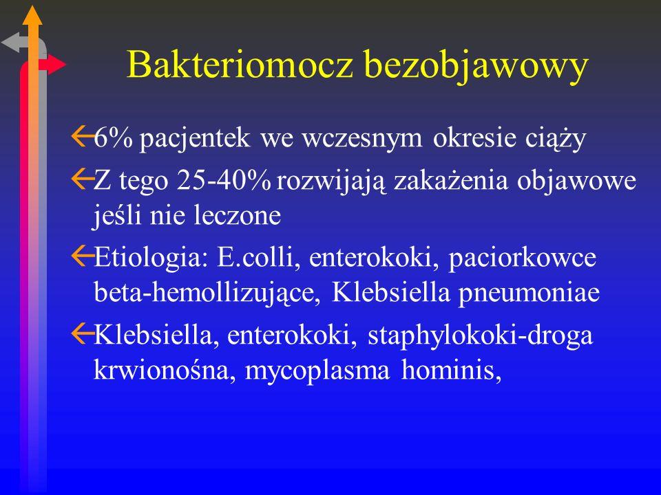 Bakteriomocz bezobjawowy