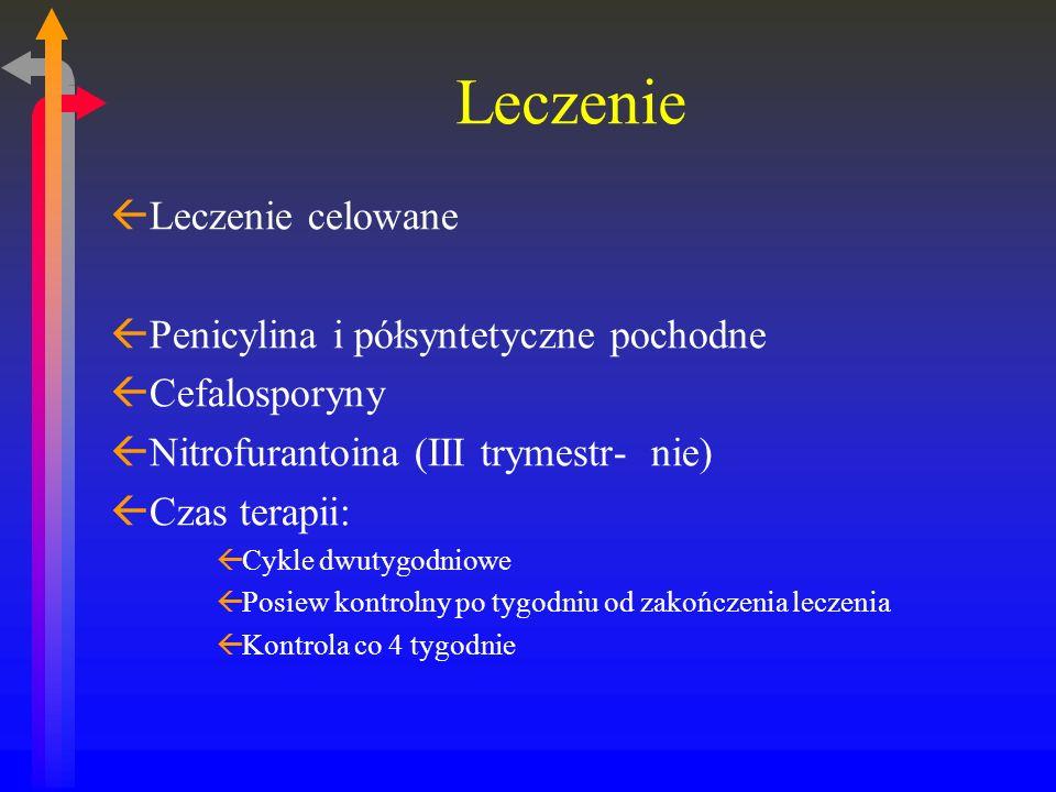 Leczenie Leczenie celowane Penicylina i półsyntetyczne pochodne