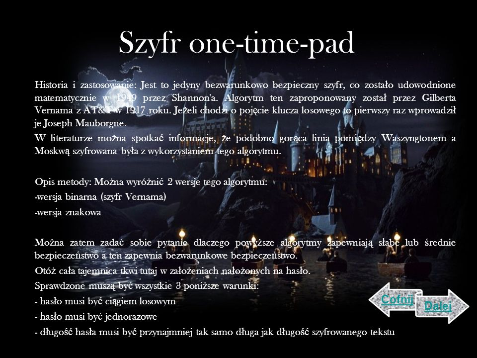 Szyfr one-time-pad