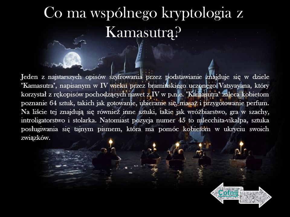 Co ma wspólnego kryptologia z Kamasutrą
