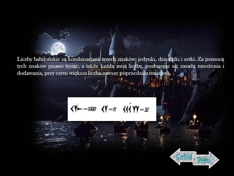 Liczby babilońskie są kombinacjami trzech znaków: jedynki, dziesiątki i setki. Za pomocą tych znaków pisano tysiąc, a także każdą inną liczbę, posługując się zasadą mnożenia i dodawania, przy czym większa liczba zawsze poprzedzała mniejszą.