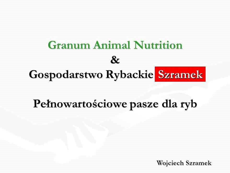 Pełowartościowa pasza dla ryb Granum