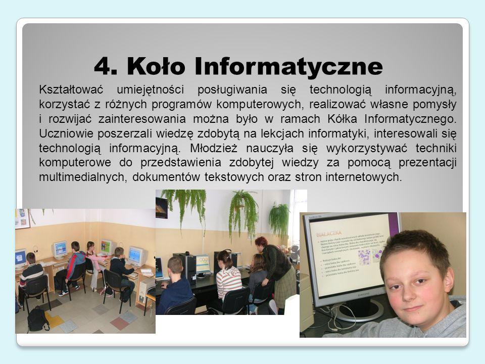4. Koło Informatyczne