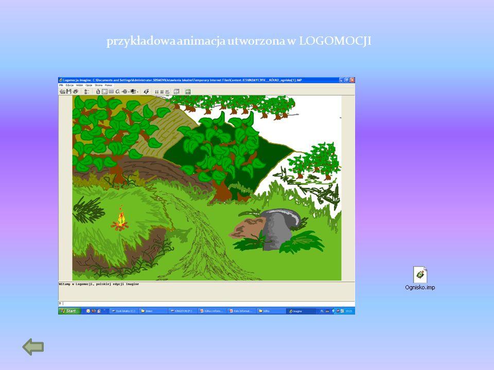 przykładowa animacja utworzona w LOGOMOCJI