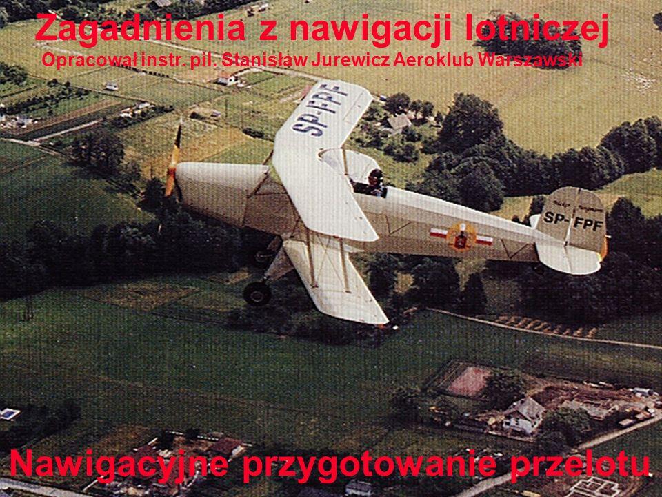 Zagadnienia z nawigacji lotniczej