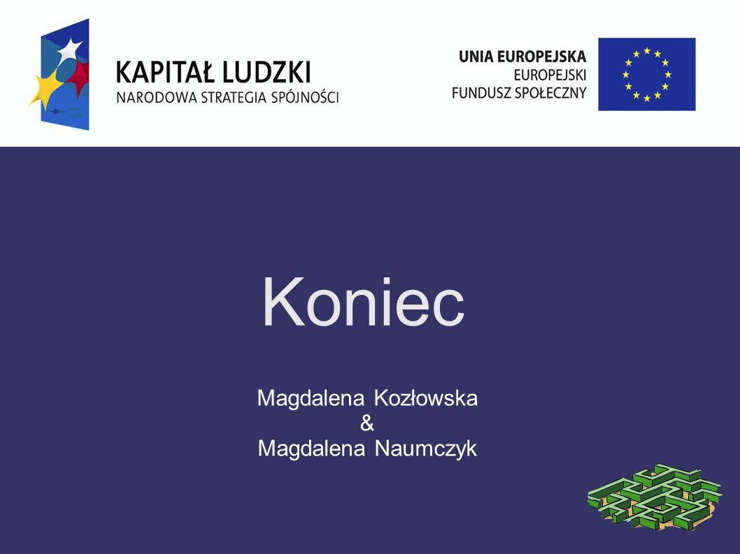 Koniec Magdalena Kozłowska & Magdalena Naumczyk
