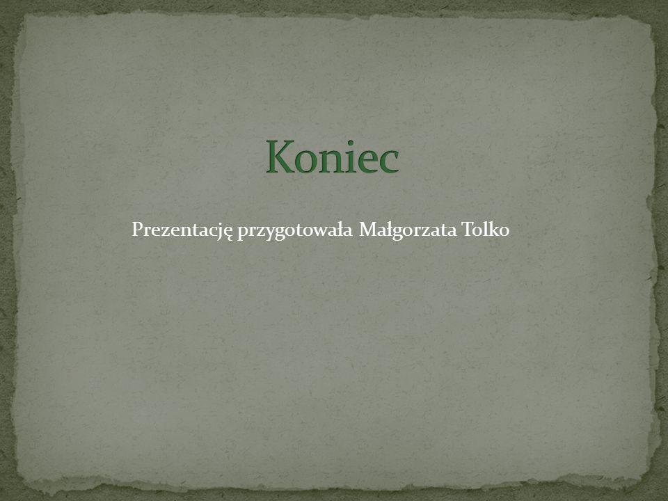 Prezentację przygotowała Małgorzata Tolko