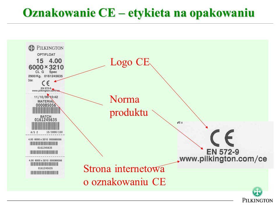 Oznakowanie CE – etykieta na opakowaniu