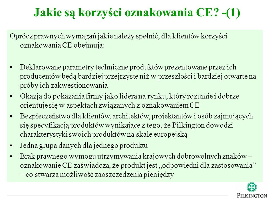 Jakie są korzyści oznakowania CE -(1)