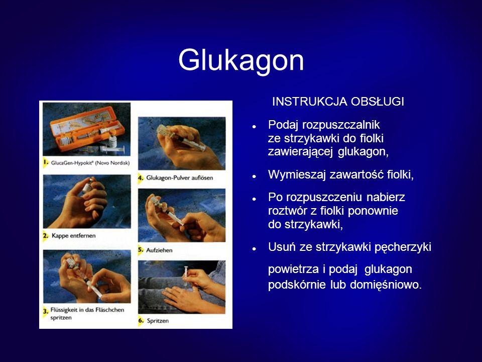 Glukagon INSTRUKCJA OBSŁUGI