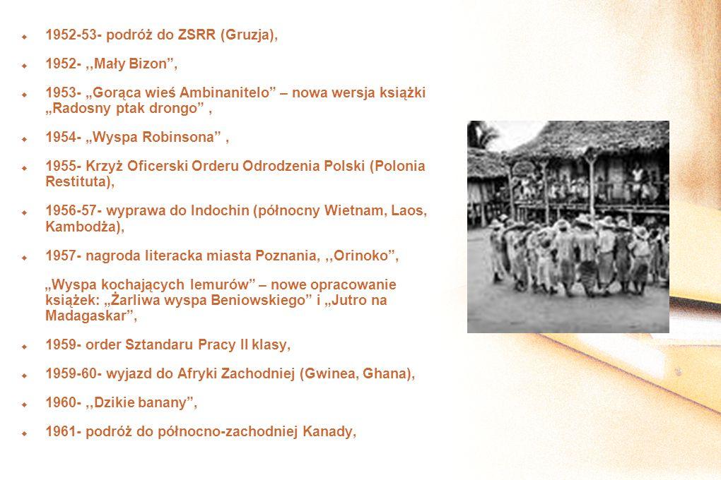 1952-53- podróż do ZSRR (Gruzja),