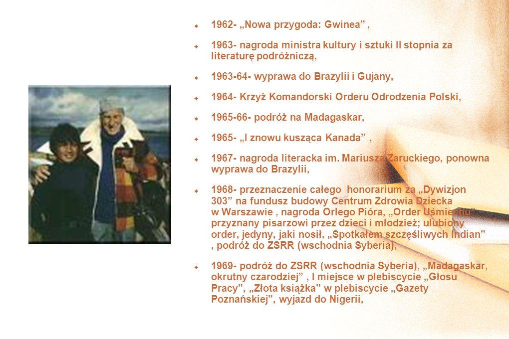"""1962- """"Nowa przygoda: Gwinea ,"""