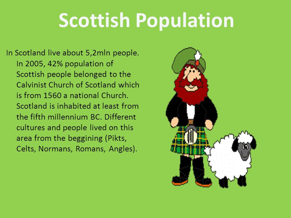 Scottish Population