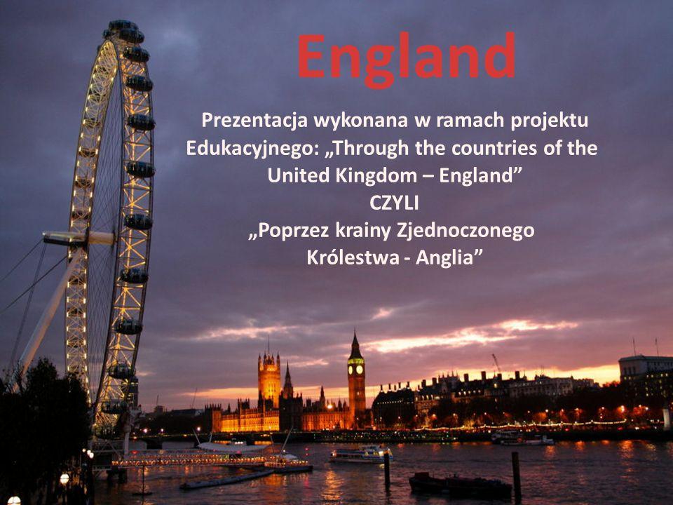 England Prezentacja wykonana w ramach projektu