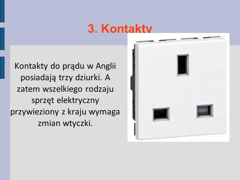 3. Kontakty